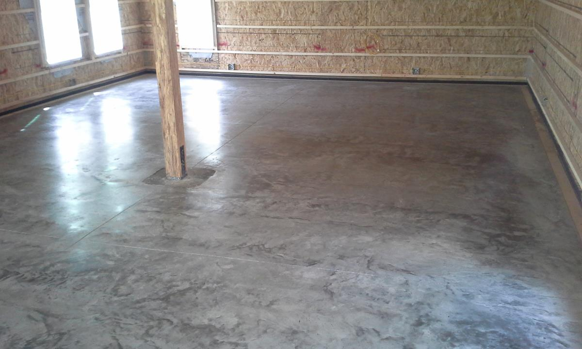 Final results of a polished concrete floor maintenance free for Polished concrete maintenance